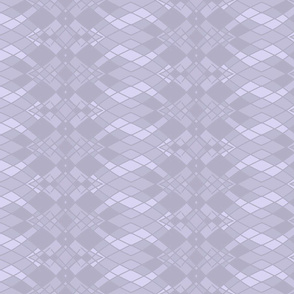 Ombre Diamonds in Gray, Light Steel Blue and Gainsboro, Vertical
