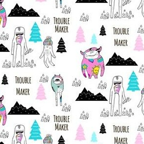 "4"" Troublemaker - Colorful"