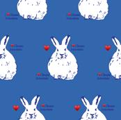 climate science Hares pantone palace blue