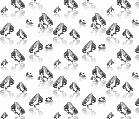 Fractal Penguins fabric by anneostroff on Spoonflower - custom fabric