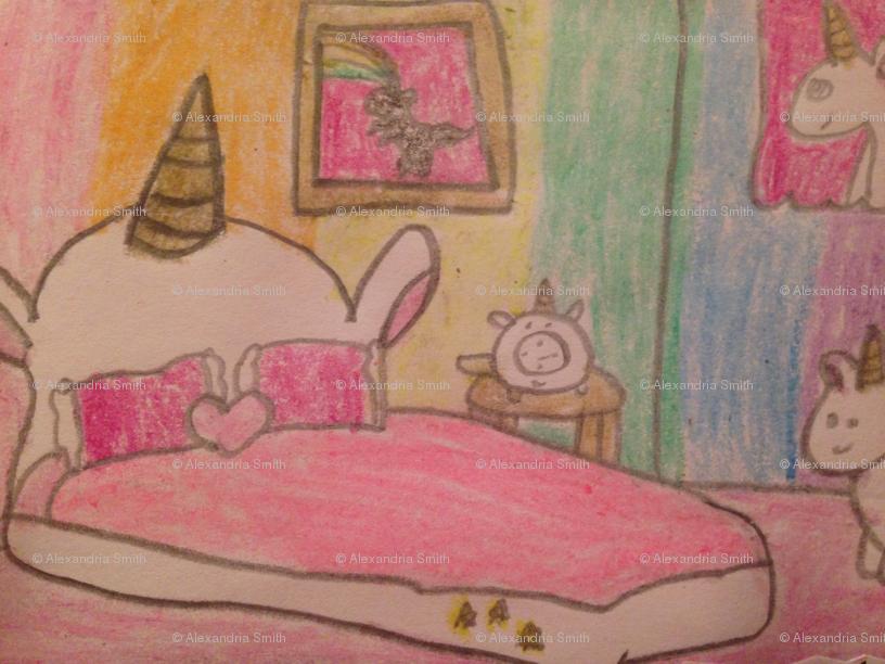 Unicorn Room wallpaper - so_adorable - Spoonflower
