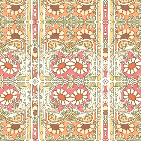Warm Summer Somethings fabric by edsel2084 on Spoonflower - custom fabric