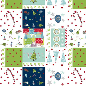 holiday cheer -Christmas quilt 14