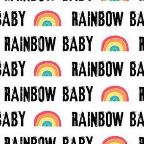 rainbow baby - multi rainbow