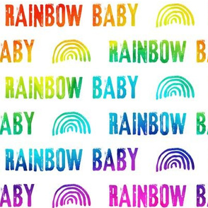 rainbow baby - bold