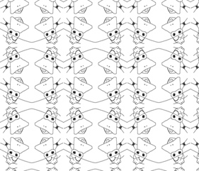 Quack fabric by ampersand_designs on Spoonflower - custom fabric