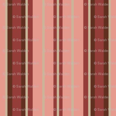School Mixer ~ Traditional Stripe  ~ Moxie,  Rougir,  Wood Island Road,  Avonlea