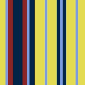 School Mixer ~  Traditional Stripe  ~ Moxie,  Roxie, Johanna,  Starboard