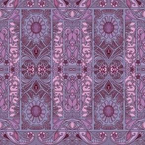 Never Trust Purple Paisley