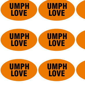 umphreys UMPH LOVE oval