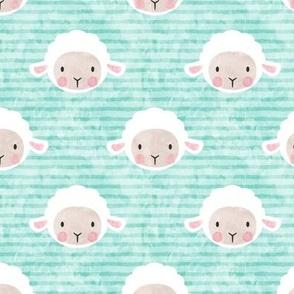 little lamb - aqua