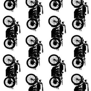 Antique Motorcycles // Medium // Vertical