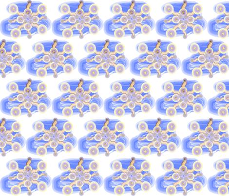 Spoonflower Tattoo fabric by savyj4thewin on Spoonflower - custom fabric