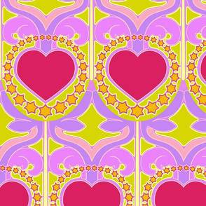 McKillip style hearts and stars