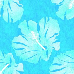 Pua Nui Turquoise White 150