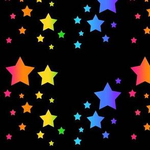 Rainbow Celestial Stars