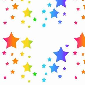 Celestial Rainbow Stars