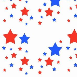 Red White Blue Stars Patriotic