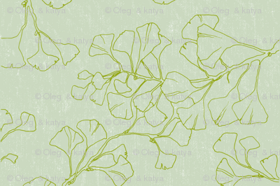 Floral Element with background 2