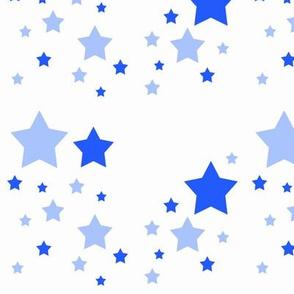 Sky Blue Stars Twinkle