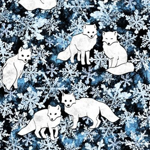 Foxes & Flakes (Blue Version)