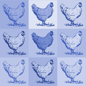 Pop Chicken - Blue