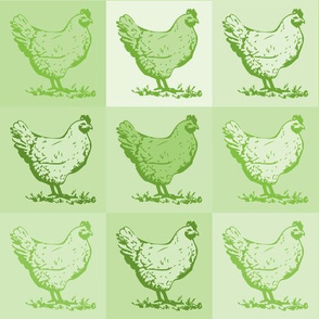 Pop Chicken - Green