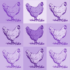 Pop Chicken - Purple