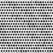 Mini Tribal Dots in Black + White