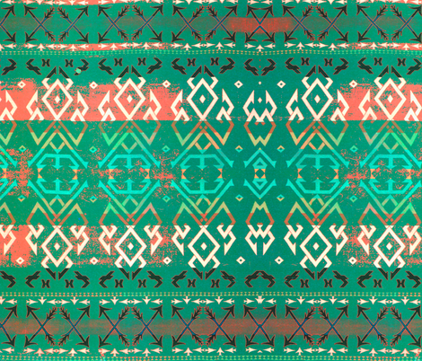 Navajo colors 12 fabric by hypersphere on Spoonflower - custom fabric