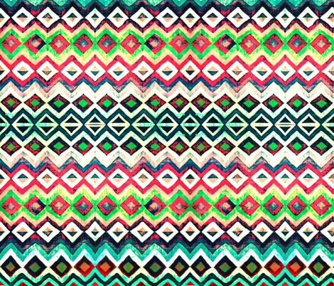 Navajo colors 15 fabric by hypersphere on Spoonflower - custom fabric