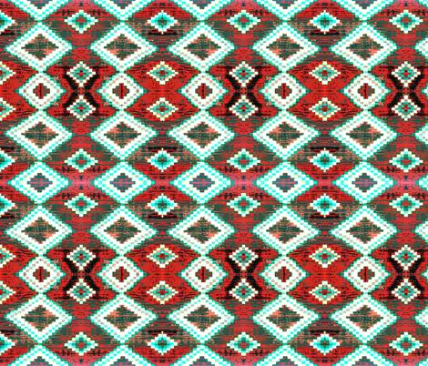 Navajo colors 17 fabric by hypersphere on Spoonflower - custom fabric