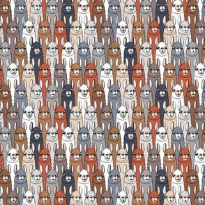 (micro scale) llamas - multi stacked