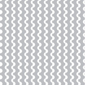 Gray and White Ric Rac _ Miss Chiff Designs