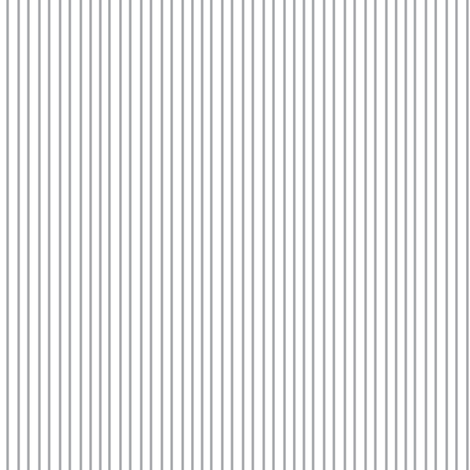 Pin Stripe pinstripe gray grey silver on white   fabric by misschiffdesigns on Spoonflower - custom fabric