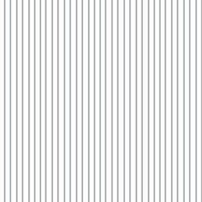 Pin Stripe pinstripe gray grey silver on white