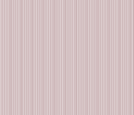 Pin Stripe pinstripe red wine maroon on white   fabric by misschiffdesigns on Spoonflower - custom fabric