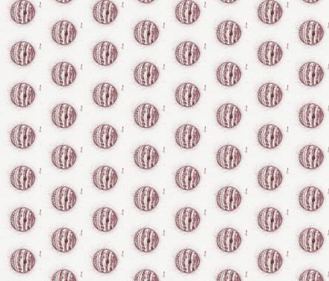 Jupiter-Ink_Sepia-ed fabric by cloudsong_art on Spoonflower - custom fabric
