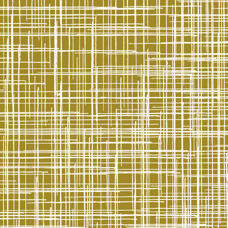 Linen Texture || Tobacco brown yellow large scale home decor grunge _ Miss Chiff Designs   fabric by misschiffdesigns on Spoonflower - custom fabric