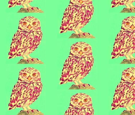 Owl fabric by farreystudio on Spoonflower - custom fabric