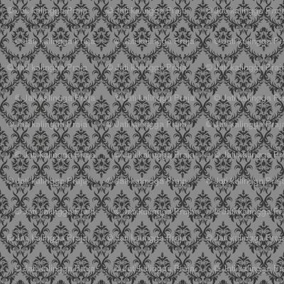 Javanese Keraton Elegant Grey 32x32