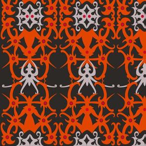 Traditional Borneo Dayak Tattoo Pattern 32x32
