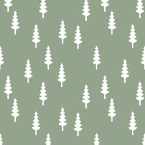 forest on sage
