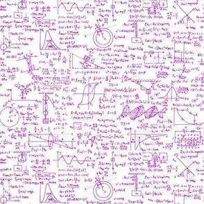 Pink Physics Equations // Small