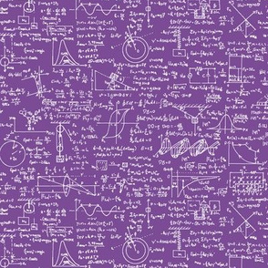 Physics Equations on Purple // Small