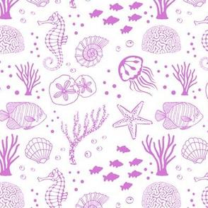 Aquatic Life // Pink