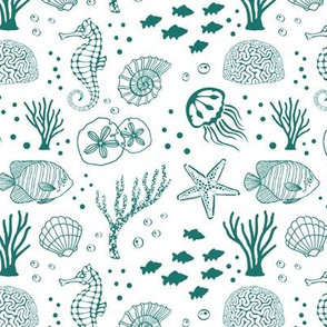 Aquatic Life // Aqua Green