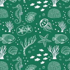 Aquatic Life // Green