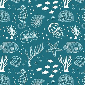 Aquatic Life // Teal