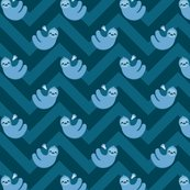 Rrrteal-sloths-chevrons-pattern_shop_thumb